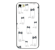 Lovely Cats Design Aluminum Hard Case for iPhone 5C