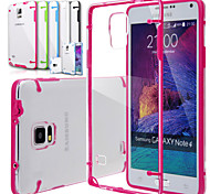 BIG D Clear Case for Samsung Galaxy Note 4 N9100(Assorted Color)
