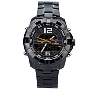 Mens Stainless Steel Watches with Watch Box Brand 2015 New Design Mens Fashion Style