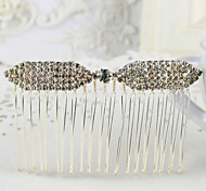 Luxuries Rhinestone Hair Combs