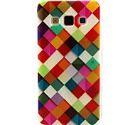 For Samsung Galaxy Case Pattern Case Back Cover Case Geometric Pattern TPU Samsung A3