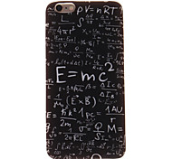 Equation  Pattern TPU Case for IPHONE 6S
