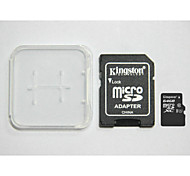 Original Kingston Digital 64GB Class 10 Micro SD And The Memory Card And The Memory Card Adaptor Box
