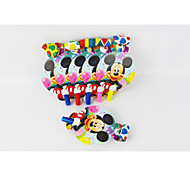 Mickey Mouse Blow Out 12pcs