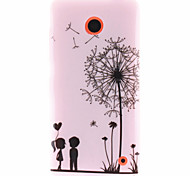 For Nokia Case Pattern Case Back Cover Case Dandelion Soft TPU Nokia Nokia Lumia 630