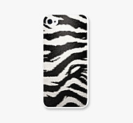 White Tiger Leopard Grain  Pattern PC Phone Back Case Cover for iPhone5C