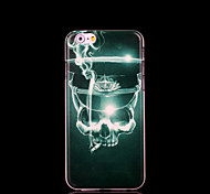 la cubierta del patrón serie negro para el iphone 6 casos