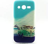 Animals Traveling Pattern TPU Soft Cover for Samsung Galaxy Core 4G G386F/G3518