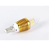 MORSEN® 7W E14 700-750LM 3000-3500K Warm White Color LED Candle Lights (85-265V)