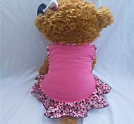 Vestiti - di Cotone - Rosa - Leopardo