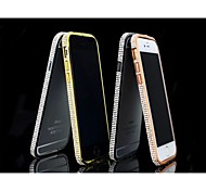 Special Design Fashion High-Grade Luxurious Metal Diamond Bumper Frame for iPhone 6 (Assorted Colors)