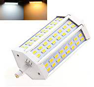 1 pcs Ding Yao R7S 15 W 48 X SMD 5730 1200 LM 2800-3500/6000-6500 K Warm White/Cool White Dimmable Recessed  AC 85-265 V