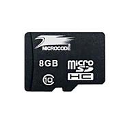 microcódigo 8 clase gb tarjeta de memoria flash SDHC TF 10 micro sd de alta velocidad