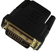DVI Male DVI -D (24+5) to HDMI Female Converter Adapter Coupler Joiner Convertor