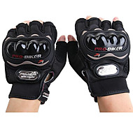 Мотоцикл перчатки Короткий палец Полиуретан/Нейлон/Лайкра M/L/XL Красный/Черный/Синий