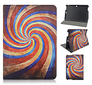 10.1 Inch Swirl Pattern PU Leather Stand Case for Asus MeMO Pad 10-ME103K