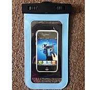 2015  5.5 Inch Waterproof Case with Matching ABS clip,Lanyard,Armband and Audio Jack for i6