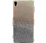 schönen Sand-Muster-TPU weich rückseitige Abdeckung für Sony Xperia z3