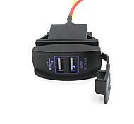 автомобиль грузовик лодку аксессуар 12v 24v Dual USB выход зарядное устройство адаптер питания приятно