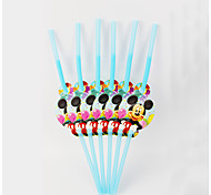 Mickey Mouse Straw 12pcs