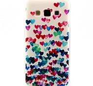 Love Dancing Pattern TPU Soft Case for Galaxy A7