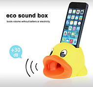 Cute Hands-Free Duck Sound Amplifier Stand Speaker Holder for iPhone 4/4S/5/5S/5C