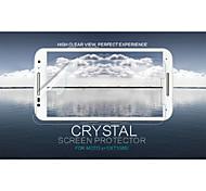 cristal nillkin filme de tela anti-impressão digital clara protetor para moto x + 1 (xt1085)