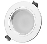 3W LED a incasso 3 LED ad alta intesità 270-330lm lm Bianco caldo / Bianco Decorativo AC 85-265 V 1 pezzo