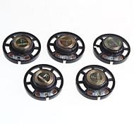 8 ohms 0.25W diamètre 2.9cm petit haut-parleur / haut-parleur (5pcs)