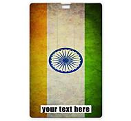 unidad flash usb personalizado diseño de la bandera india usb tarjeta de 16gb unidad flash