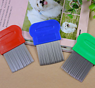 Stainless Steel Portable Other Combs For Dogs / Cats (Hardcover)
