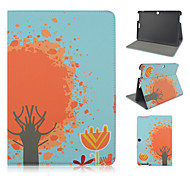 10.1 Inch Tree Pattern PU Leather Stand Case for Asus MeMO Pad 10-ME103K