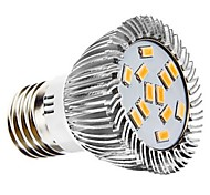 7W E26/E27 Spot LED 12 SMD 5730 700 lm Blanc Chaud / Blanc Naturel Décorative AC 100-240 / AC 110-130 V 1 pièce