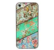 The Flower Design Aluminum Hard Case for iPhone 4/4S