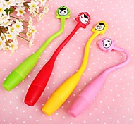Flexible Cartoon Style BallPoll Pen (Random Color)