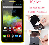 (10 Pcs) High Quality High Definition Screen Protector for Wiko Rainbow