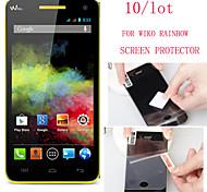 (10 piezas) Protector de pantalla de alta definición de alta calidad para wiko arco iris