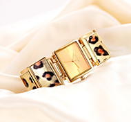 novos elegantes mulheres famosas marcas de quartzo relógio de aço leopardo moda casual para as mulheres relógio de pulso