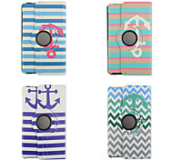 8.4 Inch 360 Degree Rotatin Wave Pattern High Quality PU Leathe Case for Samsung Tab S 8.4 T700