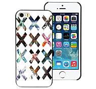 caso duro x in alluminio per iPhone 5 / 5s