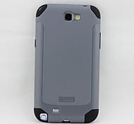 xmart® zwei in einem rückseitigen Abdeckung für Samsung-Galaxie-Anmerkung 2 N7100 Handy-Tasche (verschiedene Farben)