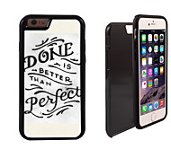 Done Perfect Design 2 in 1 Hybrid Armor Full-Body Dual Layer Shock-Protector Slim Case for iPhone 6 Plus