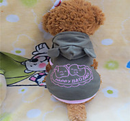 Dog Hoodie Green Winter Animal / Cartoon