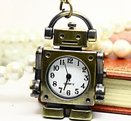 Robot Pendant Watch (hand movable)