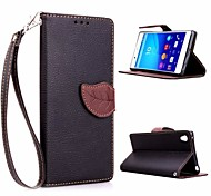 Leaf Shape TPU Case with Holder and Card Holder for Samsung 8262