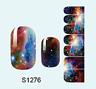 14PCS Nail Art Stickers A Series S1276