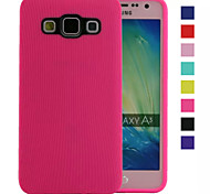 Candy Stripe TPU Material Solid Case for Samsung Galaxy A3