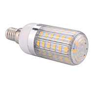 Bombillas LED de Mazorca T E14 12W 60 SMD 5730 1200 LM Blanco Cálido / Blanco Fresco AC 100-240 / AC 110-130 V 1 pieza
