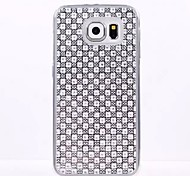Diamond TPU following fashion for Samsung GALAXY S6 S6Edge S5 S4 S3 S5mini S4mini S3mini