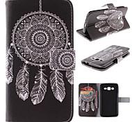 Para Funda Samsung Galaxy Soporte de Coche / con Soporte / Flip / Diseños Funda Cuerpo Entero Funda Atrapasueños Cuero Sintético Samsung